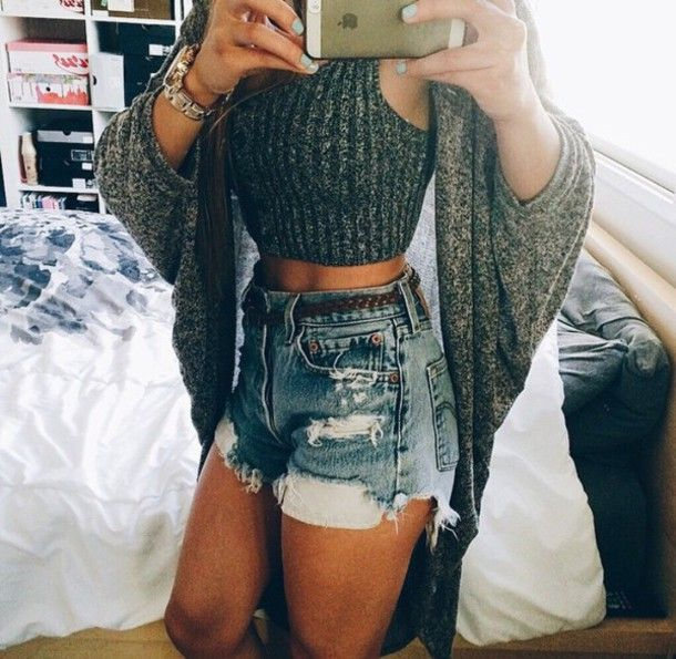 Fashionable Clothes Shoes Jeans Lipsticks Nail Polish: 25+ Best Ideas About Silver Crop Tops On Pinterest