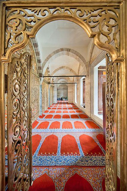 The Süleymaniye Mosque, Istanbul, Turkey