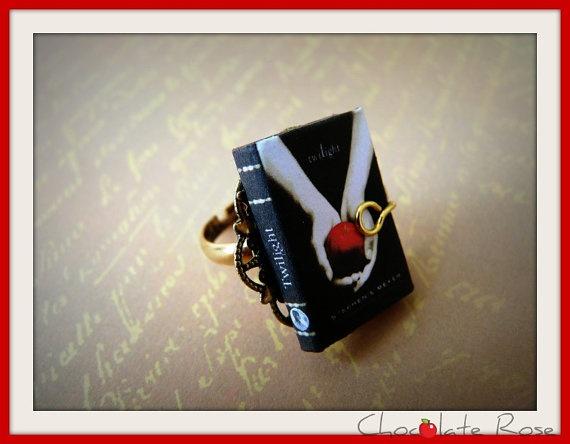 ChocoBijouX  Ring Twilight by ChocolatRose on Etsy, $17.00