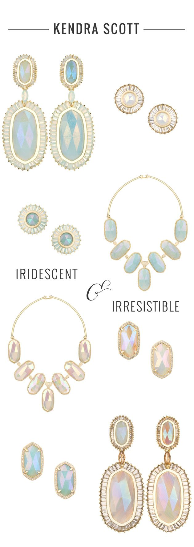 Dreamy Iridescent Bridal Jewelry By Kendra Scott | Bridal Musings Wedding Blog