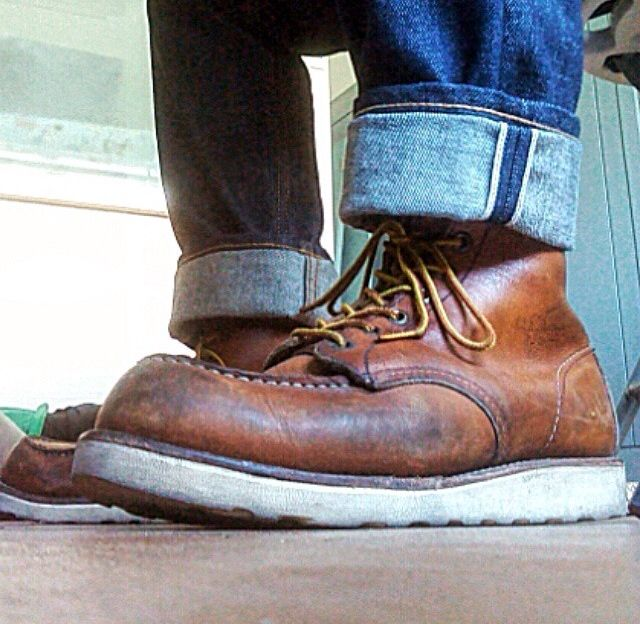 Old Red Wing 875
