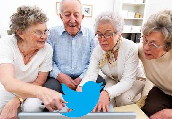 Twitter helpt ouderen bij depressiviteit