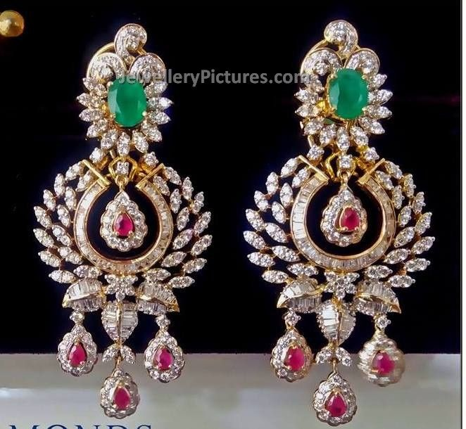 Prettiest diamond earrings I have ever seen