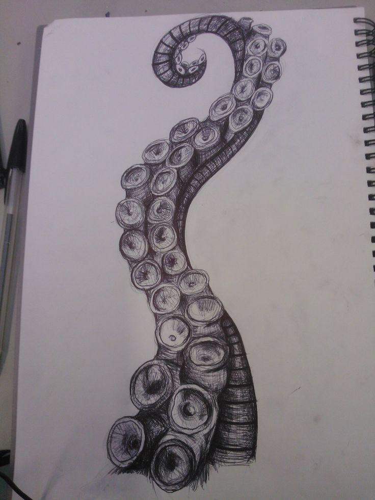 Octopus Tentacle by SweetestMalificia.deviantart.com on @deviantART love