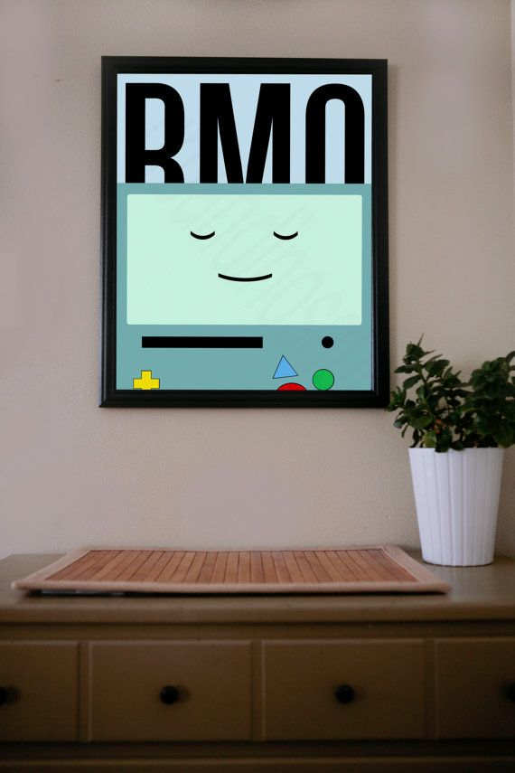 Adventure Time / BMO / Poster by UrbanDinosaur on Etsy