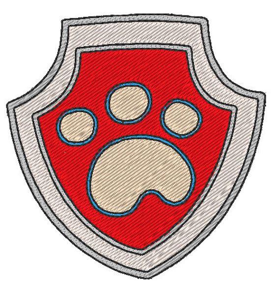 Pat'Patrouille  Badge Ryder motif de broderie par JoliKrea sur Etsy Paw Patrol - Ryder Badge - embroidery design by JoliKrea on Etsy