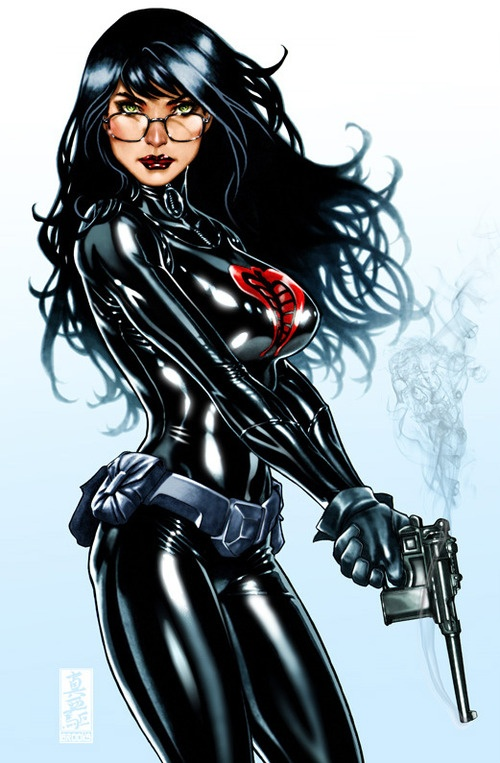 I <3 comic books...EVERYTHING about them...but I really really love The Baroness.