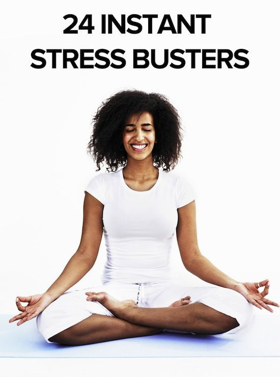 24 ways to de-stress right now.