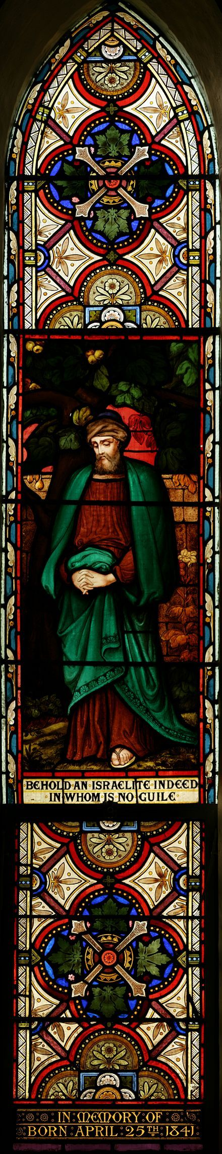 Lyon and Cottier, Stained glass panel in the transept of St. John's Anglican Church, Ashfield, New South Wales (NSW)