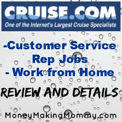 Like The Idea Of Being Customer Service for a Cruise Company?