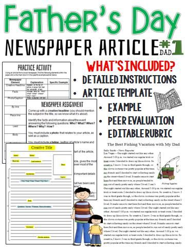 Creating a News Report   YouTube Newspaper Article Writing Activity Works with any Novel or Short Year End  Roundup All Our Lesson