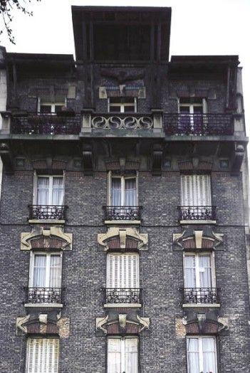 14 best images about bagnolet patrimoine histoire on pinterest villas culture and photos - Couleur autorisee batiment france ...