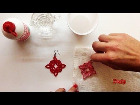 Chiacchierino Ad Ago - 11˚ Lezione Come Indurire Uncinetto Pizzo - Tutorial Come Fare Irrigidire