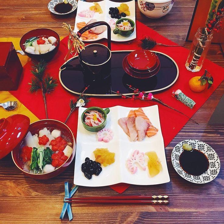 お正月の朝 | ペコリ by Ameba - 手作り料理写真と簡単レシピでつながるコミュニティ -
