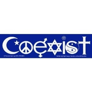 Coexist Bumper Sticker : Amazon.com : Automotive