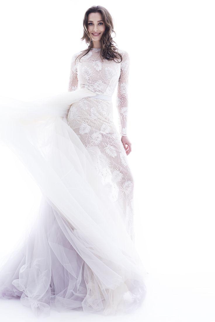 Tiffany bridal gown