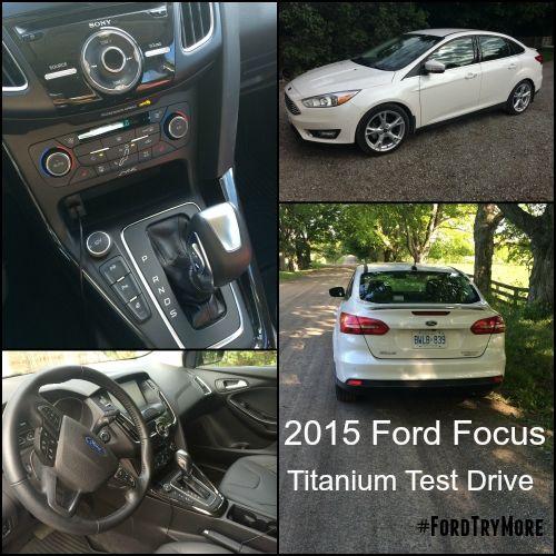 2015 Ford Focus Titanium test drive #FordTryMore
