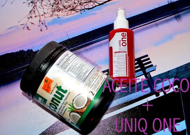 NOSINMYMAKEUP: Nueva rutina capilar: LUSH / UNIQ ONE / ACEITE DE COCO