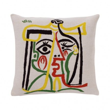 Picasso Cushion Cover - Head of The Woman