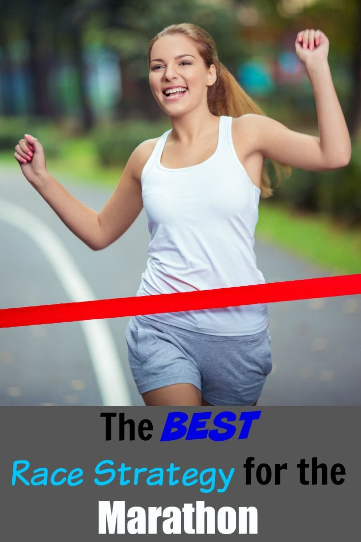 Marathon Race Strategy The Perfect Strategy for