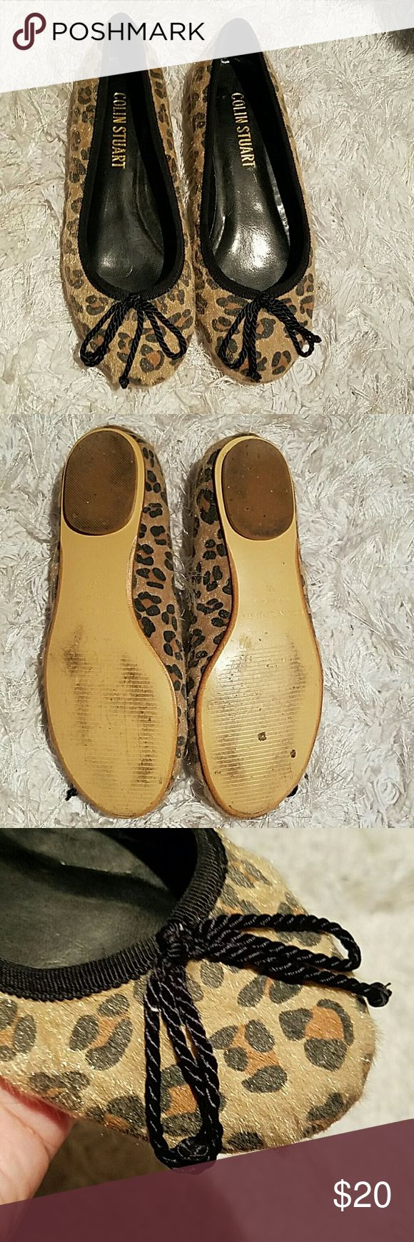 Colin Stuart flats Leopard flats in great condition. Colin Stuart Shoes Flats & Loafers