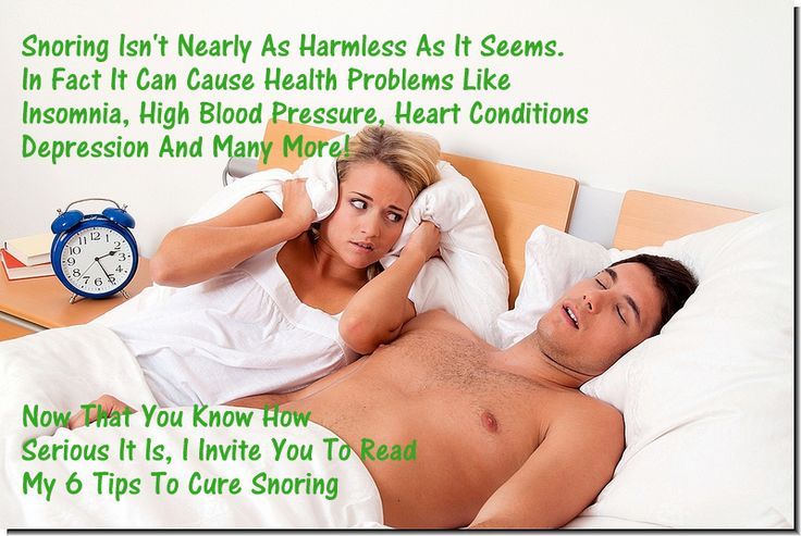 6 Tips To Help You Get RId Of Snoring