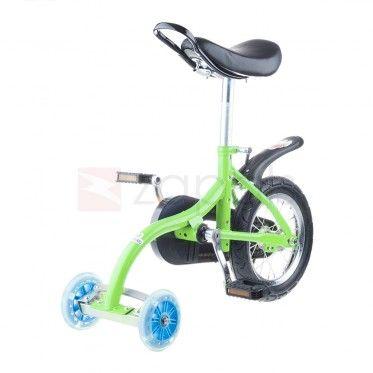 Kids Unicycle Mini Balance Bicycle - Green