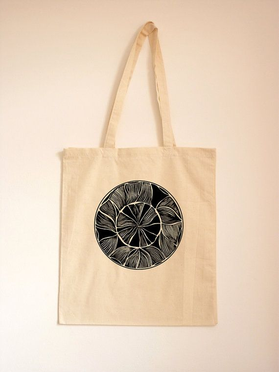African Pattern Fabric Tote/ Tribal Bag/ Ethnic by TheToteGallery