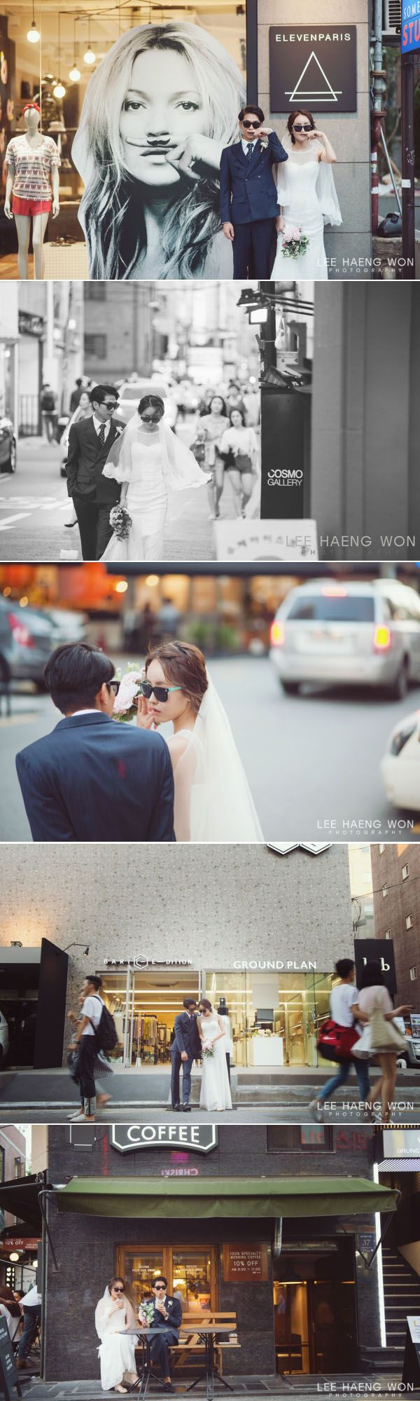 Prewedding photo shoot in Seoul, Korea // Lee Haeng Won on OneThreeOneFour // http://www.onethreeonefour.com/listing/LeeHaengWonPhotography/55a2205fc75a109b4147262b