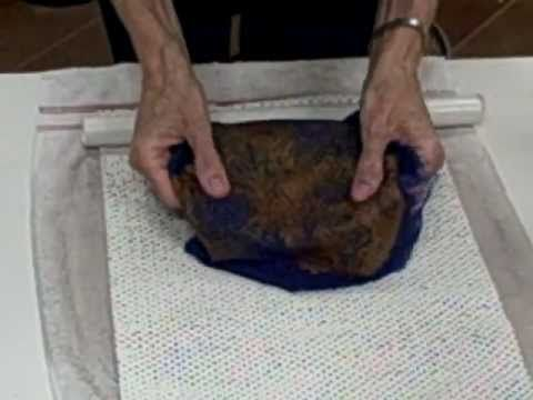 ▶ Feltmaking for Beginners--Part2.wmv - YouTube