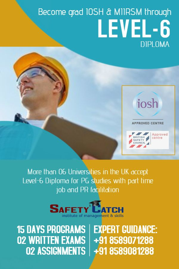 International Diploma In Occupational Safety Health I Dip IOSH