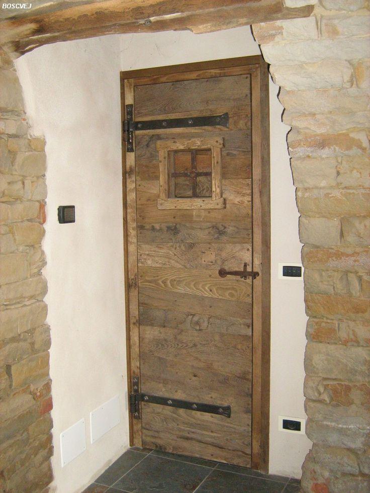 Porta in castagno - Bosc Vej