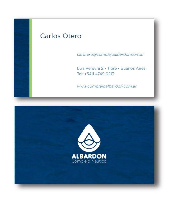 Las nuevas tarjetas personales del Complejo Albardon.