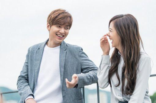 Lee Min Ho and YG Rookie Kim Ji Soo Pose Together in Sweet Pictorial for 'Samsonite Red'