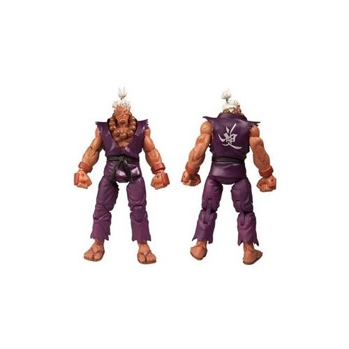 #ShinAkuma unique purple version is a villain at the apex of his dark powers! #Shotokan #MartialArts #Ryu #Ken #StreetFighter #Master #ActionFigure #Toys