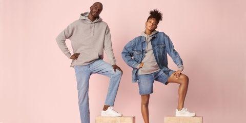 H&M's New Denim Line Is Completely Unisex
