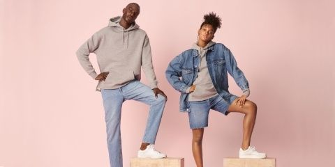H&M's New Denim Line Is Completely Unisex