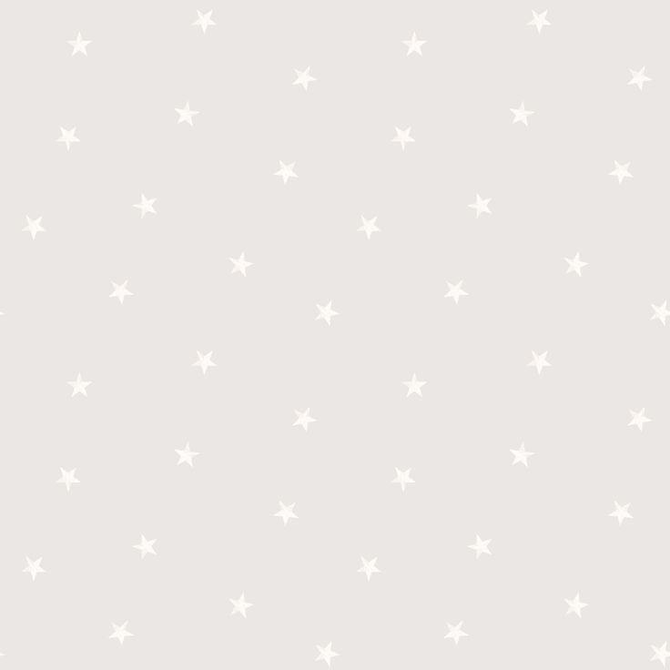 Soft Grey Stars Wallpaper | Departments | DIY at B&Q