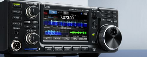 IC-7300 The best radio in Norway now and very popular