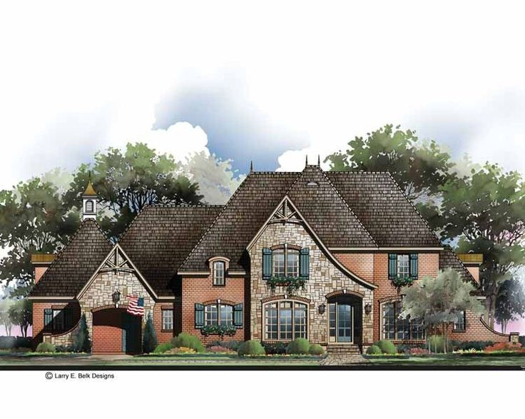 92 best House Plans 4,500 - 5,000 s.f. images on Pinterest | House ... - french country house plans