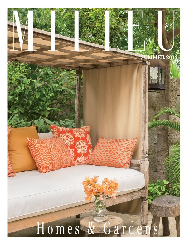 Find This Pin And More On MILIEU: Covers By MilieuMagazine. Milieu Homes  And Gardens