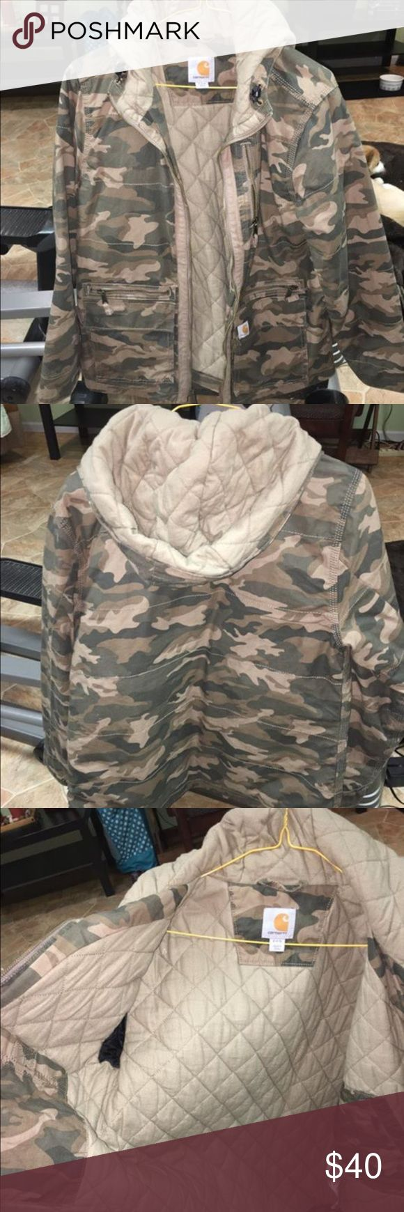Carhartt women's winter jacket Worn only a few times. Warm!  No flaws, stains, rips. Carhartt Jackets & Coats
