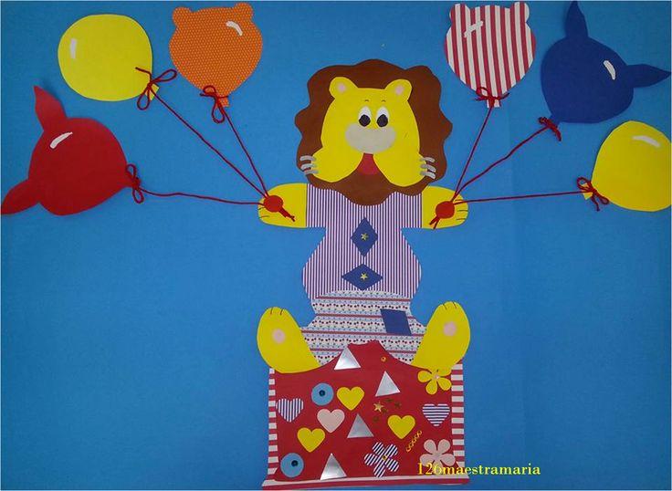 Preparativi per Carnevale: leoncino giocoliere