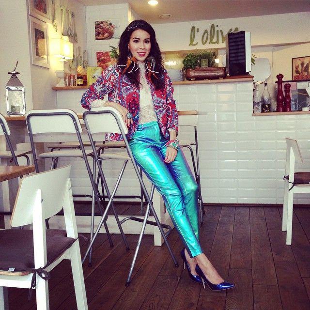 Macademian Girl wearing Gold Label pants