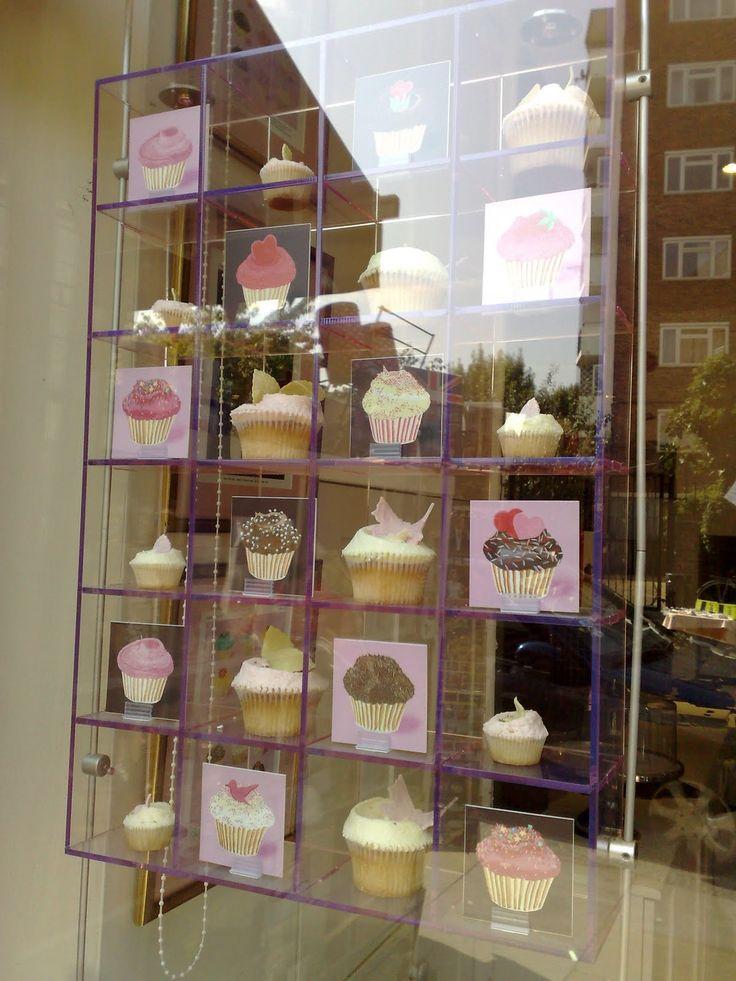 London - The Hummingbird Bakery... True love in a shop window.