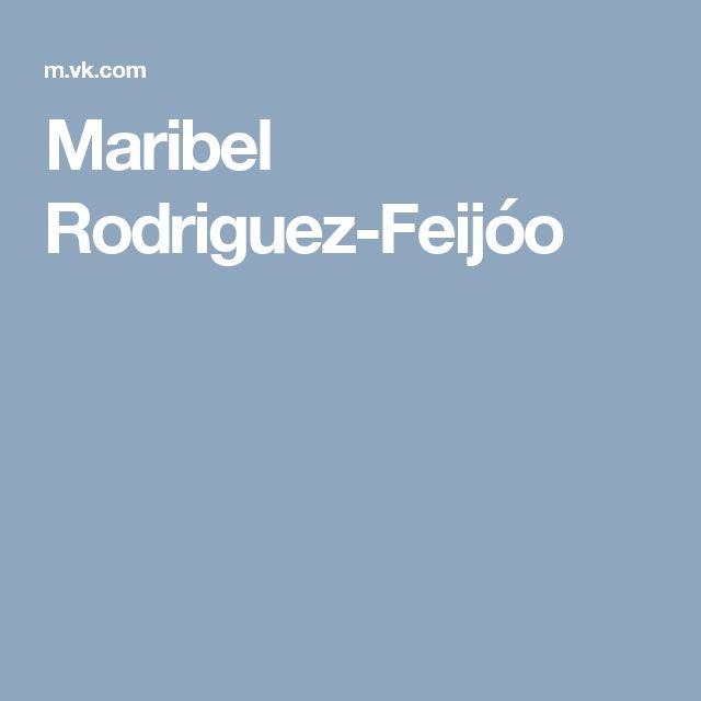 Maribel Rodriguez-Feijóo