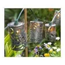 tin can lights -