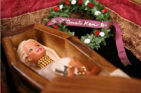 Deceased Barbie (I love the open eyes)