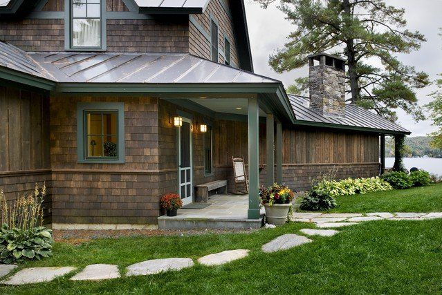 Rustic Exterior Log Siding Norwich Home Designers Exterior Ideas