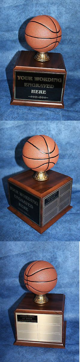 Other Basketball 2023: Fantasy Basketball 18 Year Perpetual Trophy With Wood Base. Free Engraving!!! -> BUY IT NOW ONLY: $48.95 on eBay!